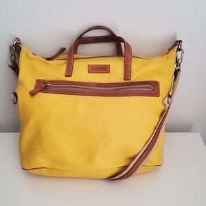 Dooney & Bourke Bag Yellow Hobo